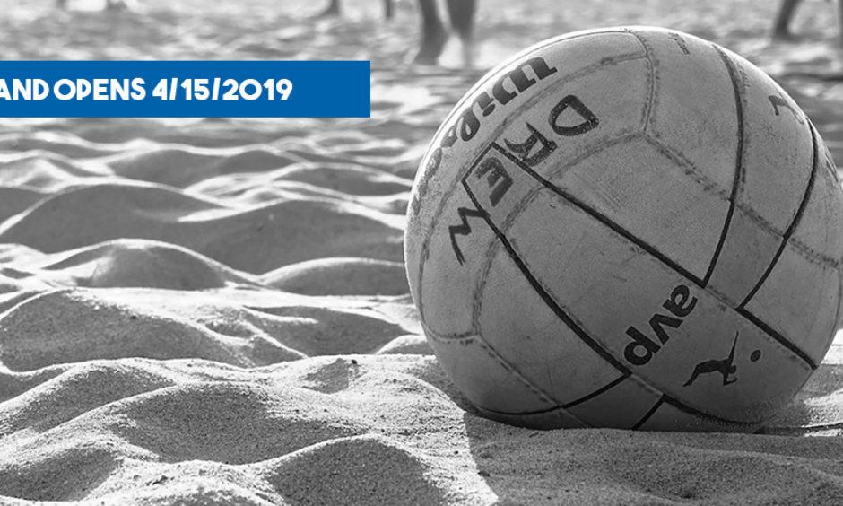 Summer Sand Opens 4/15/2019